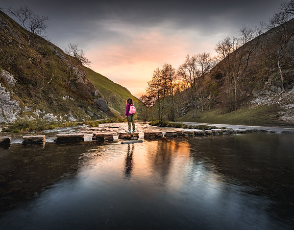 X marks the spot! - Dovedale, Peak District
