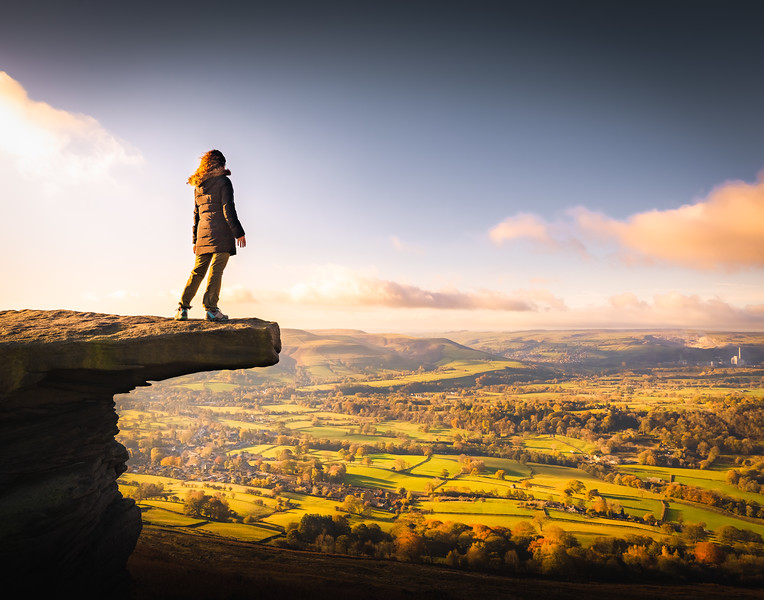 Hear me Roar! - Bamford Edge, Peak District