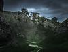 Guarding the Valley - Peveril Castle, Peak District
