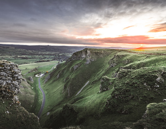 First Light - Winnats Pass, Peak District