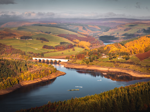 Glory of Autumn! - Ladybower Reservoir, Peak District
