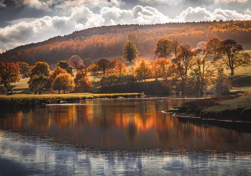Autumn Glow! - Chatsworth, Peak District