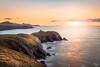 Mystical Sunset Glow - Abereiddy, Pembrokeshire Coast, Wales, United Kingdom