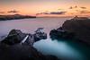 A Picturesque Quarry - The Blue Lagoon, Abereiddi, Pembrokeshire, Wales