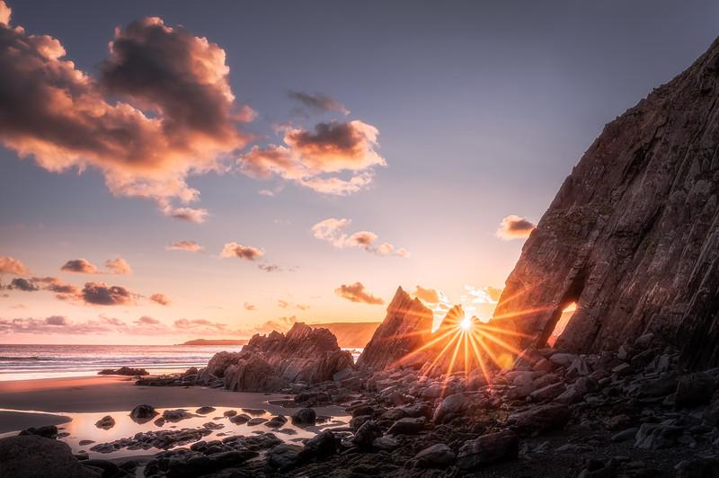 Blinded - Marloes Sands, Pembrokeshire Coast, Wales, United Kingdom