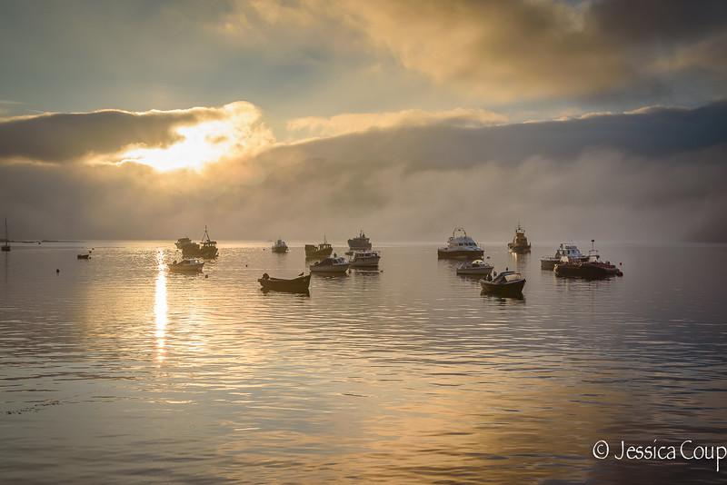 Sunrise at Portree Harbor