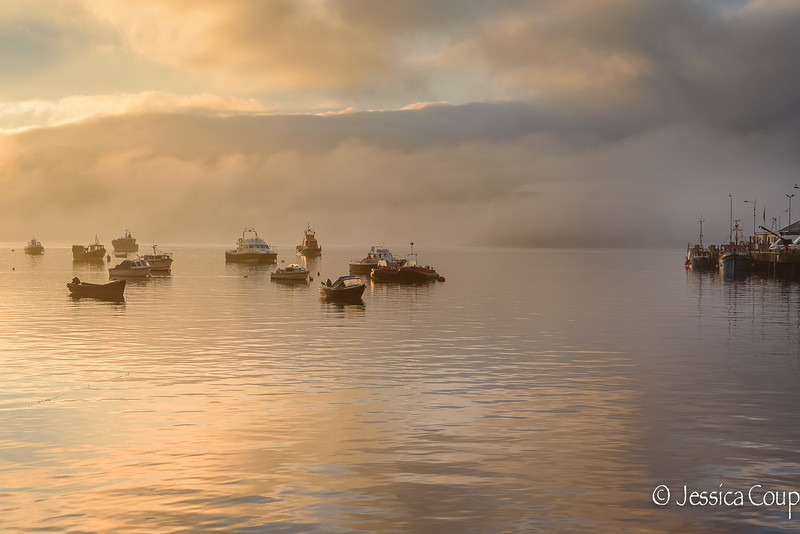 Portree Harbor Waking Up