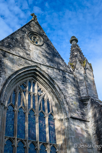Close Up of Dunkeld Cathedral