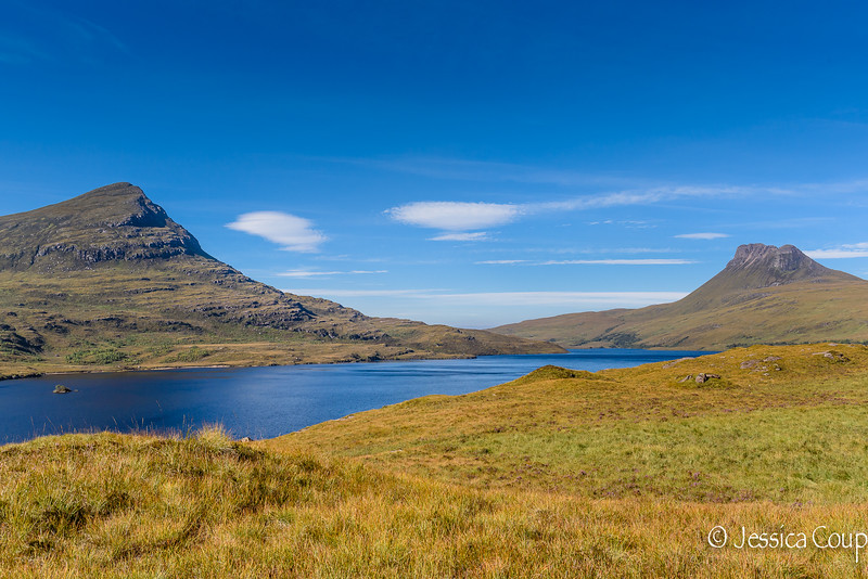 Mountains of Beinn an Eoin and Stac Pollaidh