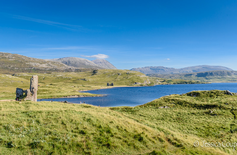 Picturesque Setting of Ardvreck Castle