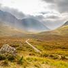 Old Road Through Glen Coe