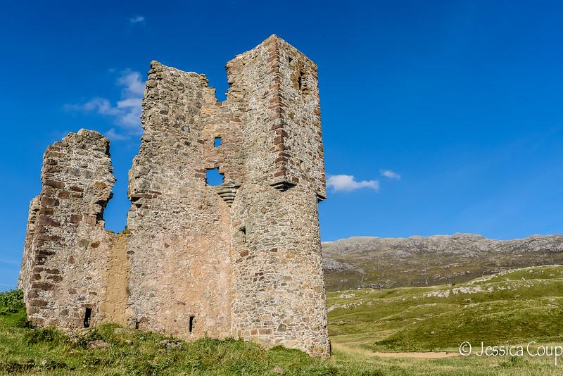Ardvreck Castle Up Close