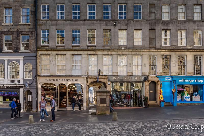Royal Mile Shops