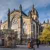 Sun Shining on St. Giles' Cathedral