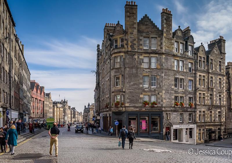 Bonny Buildings of Edinburgh