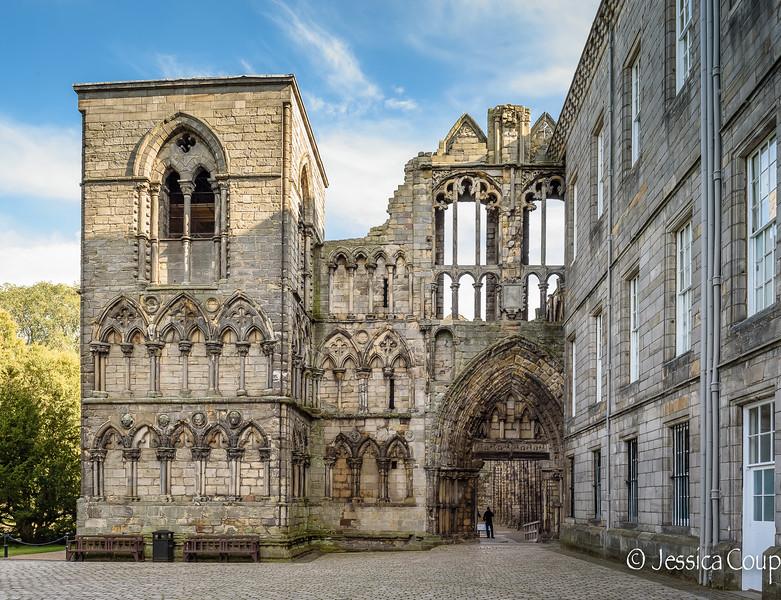 Augustinian Abbey Entrance