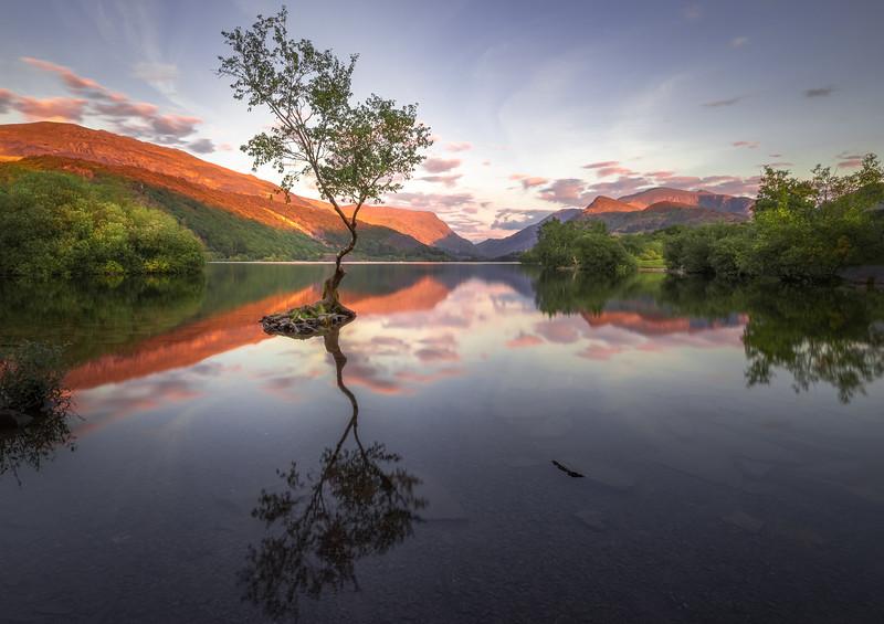 Llyn Padarn - Snowdonia National Park, Wales, United Kingdom