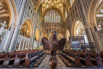 Eagle Lecturn Wells Cathedral
