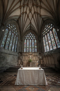Wells Cathedral Lady Chapel Alter