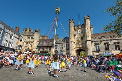 Maypole Dancing Wells