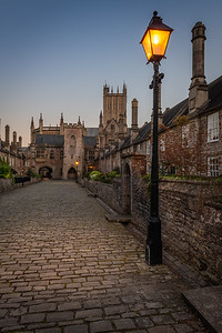 Vicars Close at Dusk