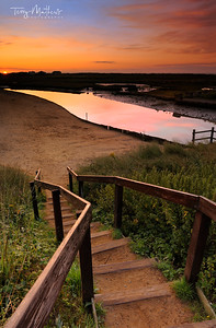 Dawn over Walberswick, Suffolk - England