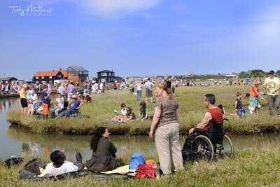 Walberswick Crabbing Competition. Suffolk - England
