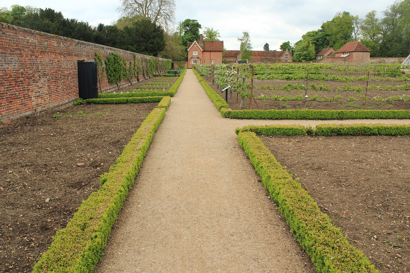 Food Garden, Audley End House just outside Saffron Walden, Essex, south of Cambridge, England