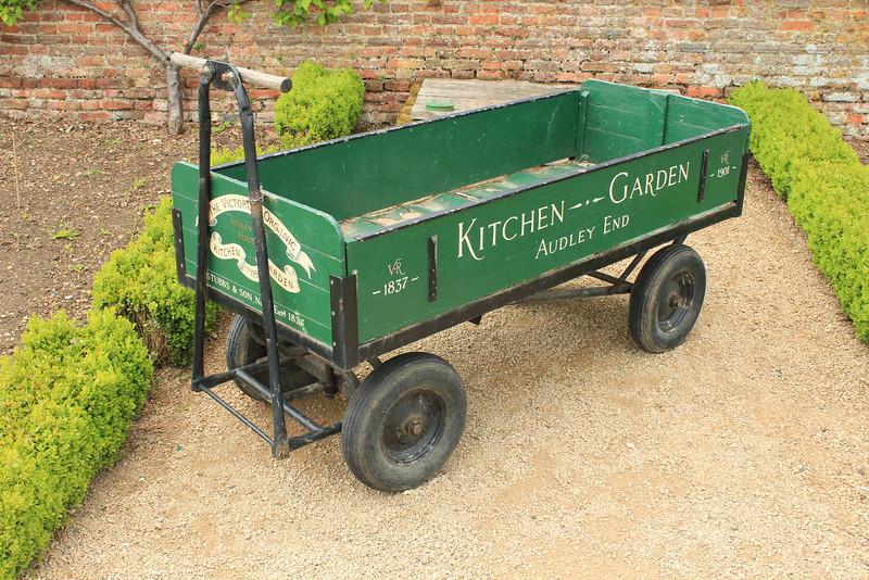 Food Garden, Audley End House just outside Saffron Walden, Essex, south of Cambridge, England
