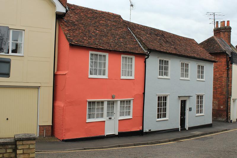 Saffron Walden, Essex, south of Cambridge, England