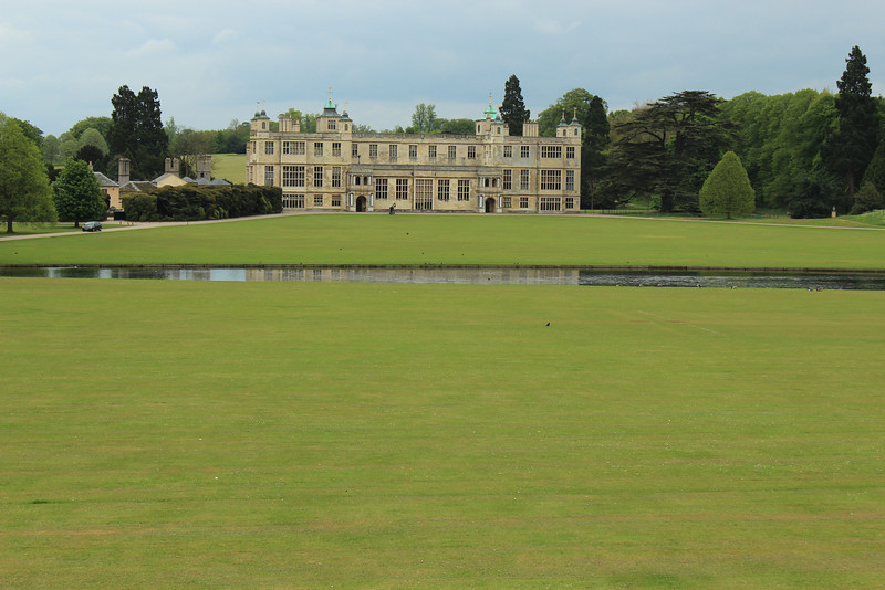 Audley End House is largely an early 17th-century country house just outside Saffron Walden, Essex, south of Cambridge, England. It was once a palace in all but name and renowned as one of the finest Jacobean houses in England
