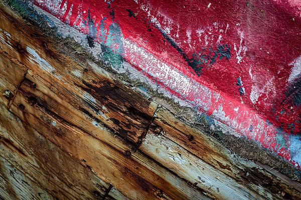 Derelict Boat Detail