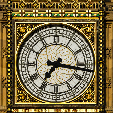 Elizabeth Tower Clock Face