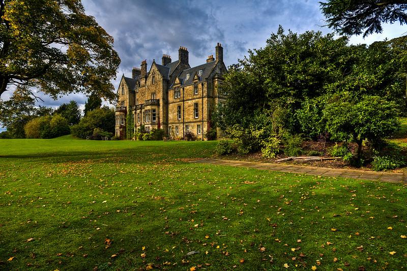 Pitreavie Castle, Fife, Scotland