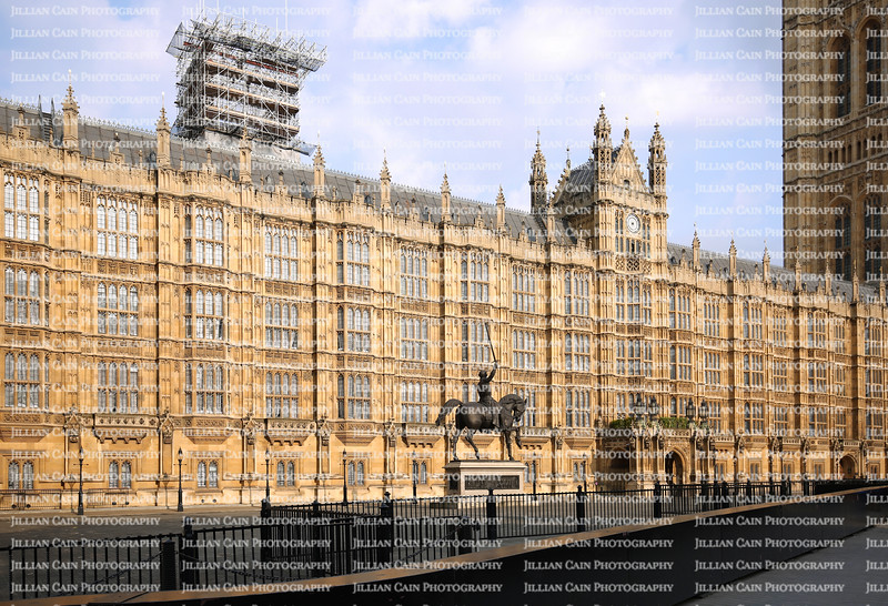 House of Parliament under construction