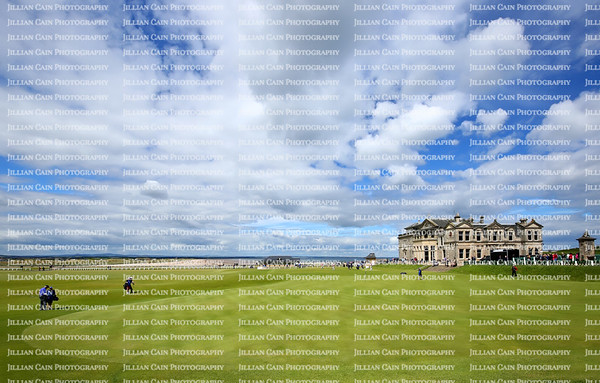 "St. Andrews Clubhouse and Golf Course of the Royal & Ancient where golf was founded in 1754, considered by many to be the ""home of golf"" in St. Andrews, Scotland."