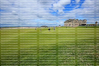 St Andrews Clubhouse of the Royal and Ancient where the home of golf was founded in 1754 in Sotland.  The Royal and Ancient Golf Club of Is one of the oldest golf clubs.