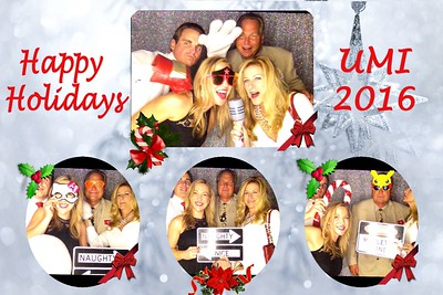 United Mechanical Holiday Party 2016 /booth 2