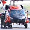 MH-60 6041 from Cape Cod arriving at KGON 5-17-17