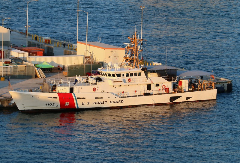USCG Sentinel Class Cutter Richard Etheridge (WPC 1102)