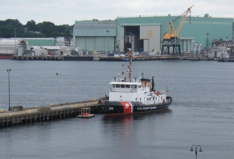 USCGC MORRO BAY (WTGB-106) - 2009