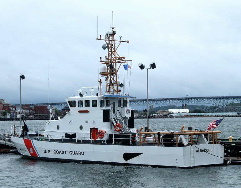 Coast Guard 87' Cutter Albacore (WPB 87309) CG Sta. New London, CT