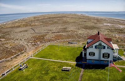 Keeper's Quarters and the Ever-Growing Sand Spit
