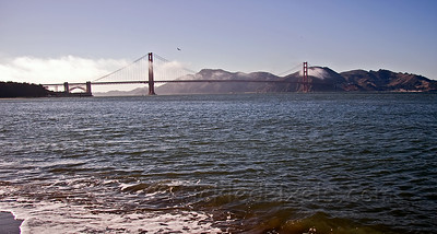Golden Gate Bridge from East Beach