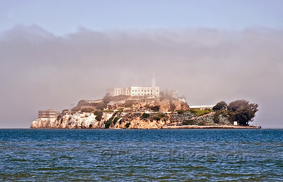 Alcatraz Through the Mist