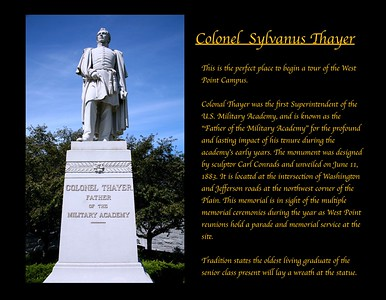 The Colonel Thayer Memorial at West Point Military Academy