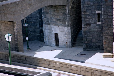 Entrance to West Point Steam Tunnels