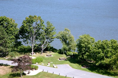 Cadet Picnic Area on THe Hudson River at West Point