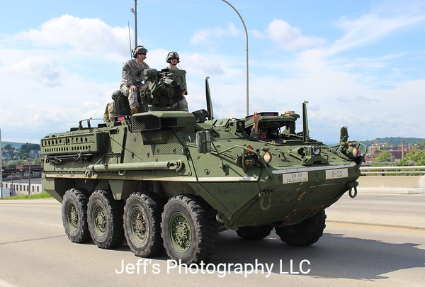 Army National Guard 28th Infantry Division Stryker #MV08YP