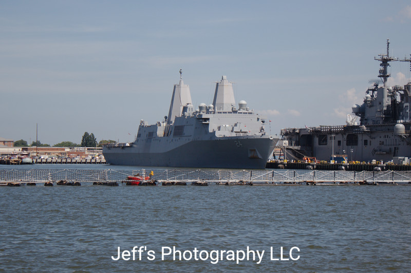 Amphibious Transport Dock USS Arlington LPD-24